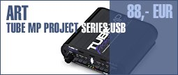 ART Tube MP Project Series USB