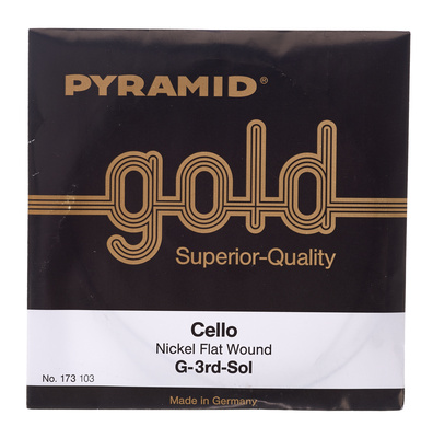 Pyramid Gold Cello String 4/4