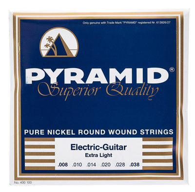 Pyramid ElectricGuitar Strings 008-038