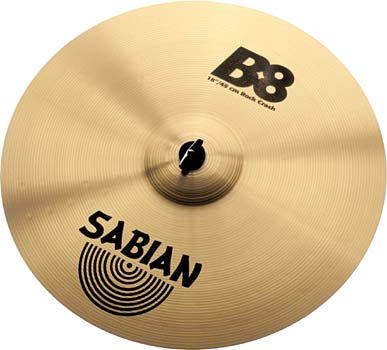 "Sabian 16"" B8 Rock Crash"
