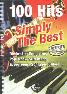 Hage Musikverlag Simply The Best 100 Hits Neu
