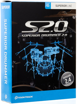 Toontrack Superior Drummer 2.0 Drum Plugin