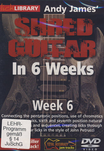 Music Sales Shred Guitar Week 6