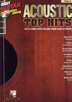 Hal Leonard Easy Guitar Play-Along Top Hit