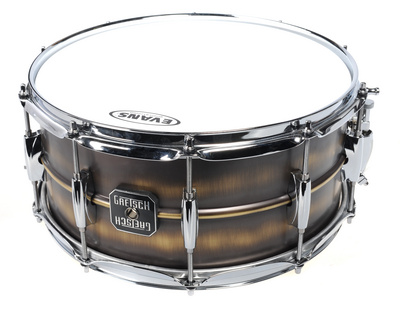 "Gretsch 14""x5,5"" Snare Brushed Brass"