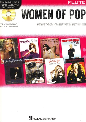 Hal Leonard Women Of Pop Flute